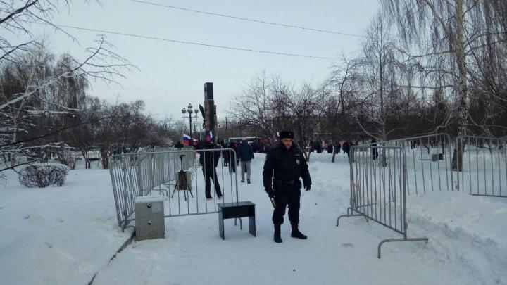 «Не поддавайтесь на провокации»: полиция предостерегла красноярцев от участия в митинге Навального