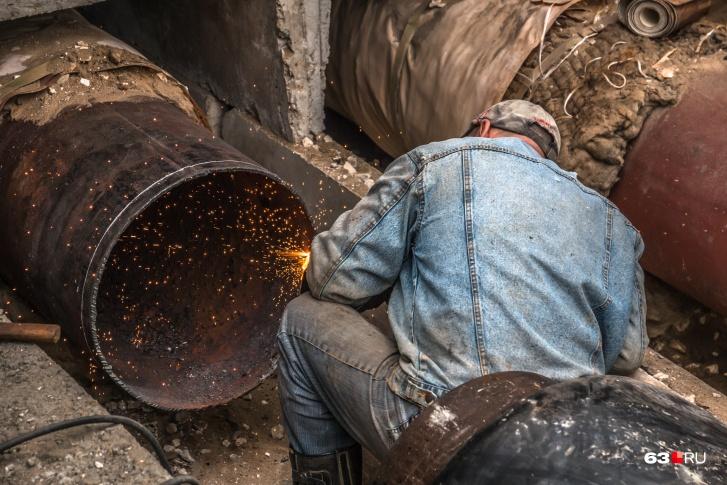 В 2021 году в Самаре отремонтируют более 65 км теплосетей