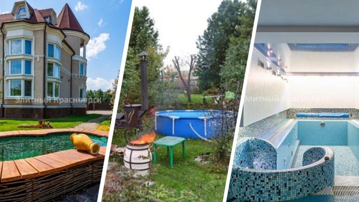 Купаться в роскоши: подборка домов с бассейнами в Красноярске