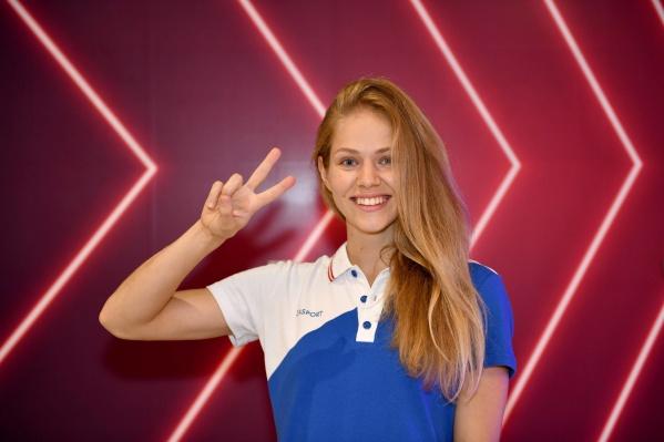 Татьяна Минина завоевала свою первую олимпийскую медаль