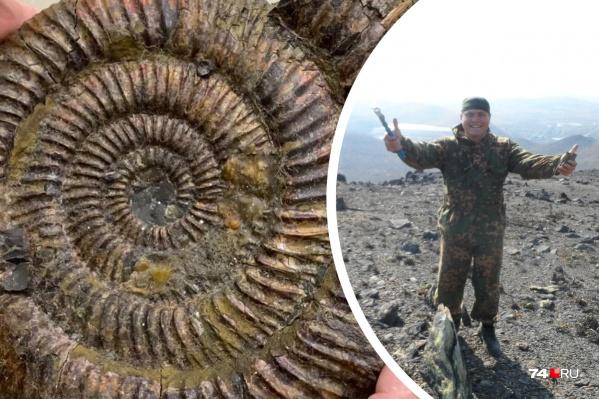 Геологией Александр увлекся в детстве
