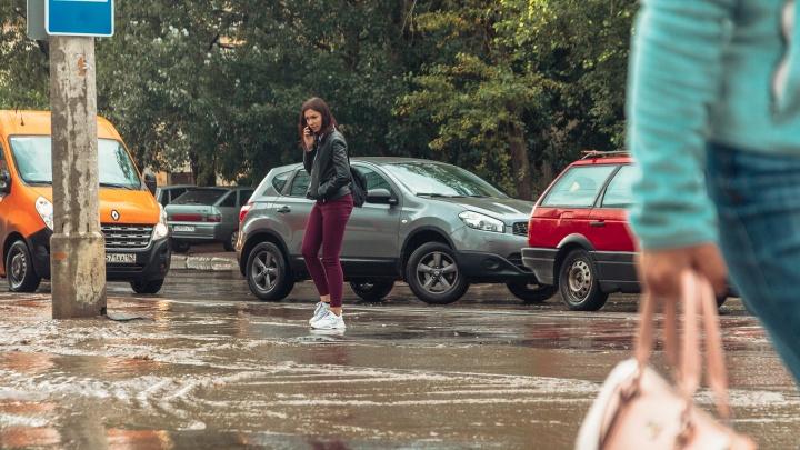 Синоптики пообещали дождливую погоду в Самарской области