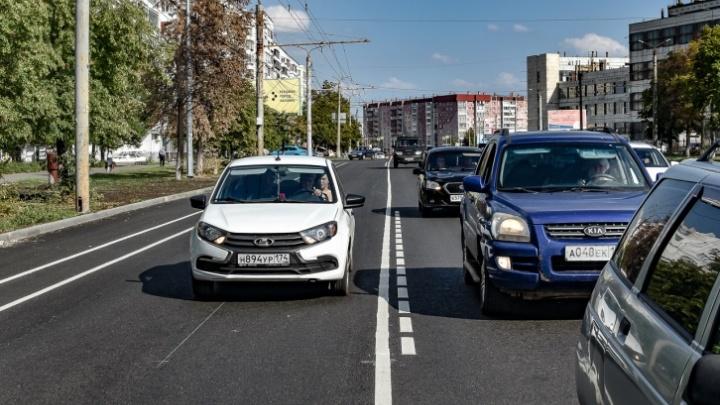 В Челябинске изменили схему движения на Комсомольском проспекте