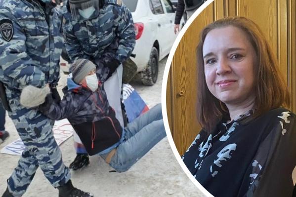 Елена руководила ярославским отделением, когда шли митинги
