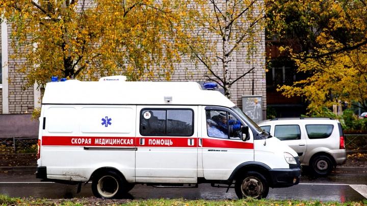 Под Ярославлем рейсовый автобус столкнулся с грузовиком: пятерых с места ДТП увезли в больницу