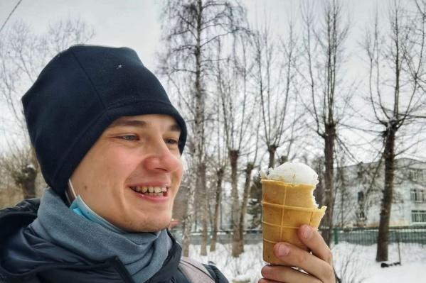 Никита Прошин долгое время жил и работал в Китае, но в ноябре прошлого года вернулся в Омск