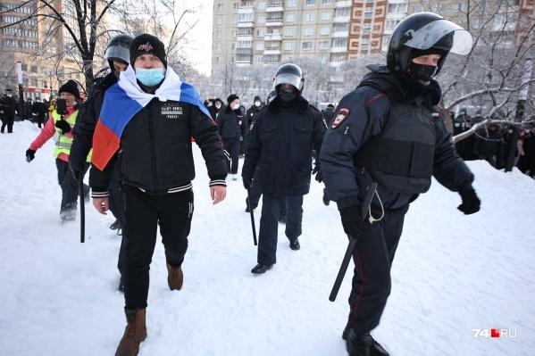 АртёмаЯумбаева задержали одним из первых, еще до начала шествия