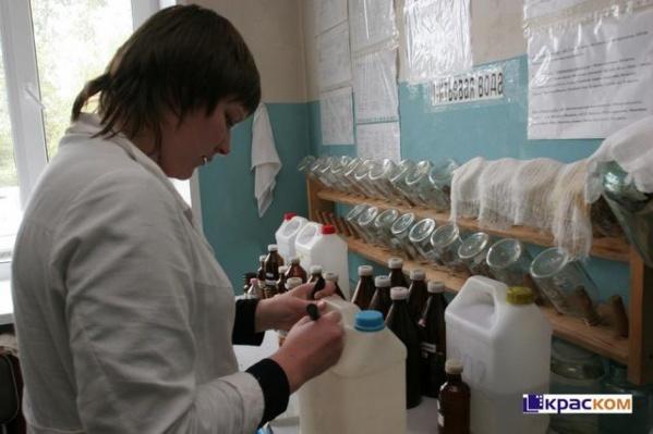 В Краскоме проверяют воду из Студгородка