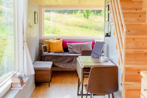 Дачный домик можно сделать уютней и практичней, добавив всего несколько деталей
