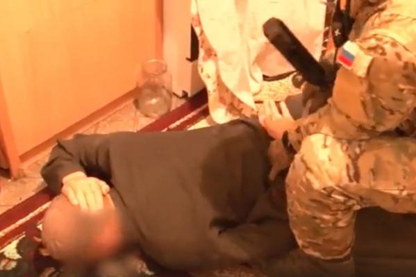 Экстремисты находились в квартире и не ожидали силовиков