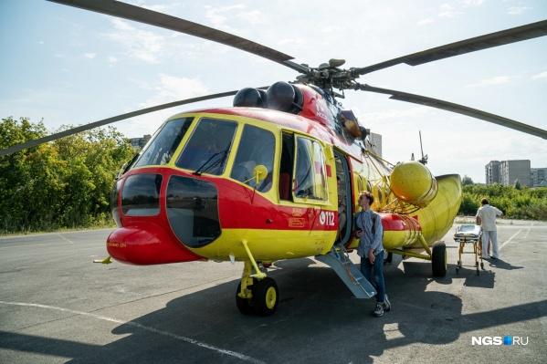 Победитель конкурса по вертолетным перевозкам врачей с пациентами станет известен на следующей неделе