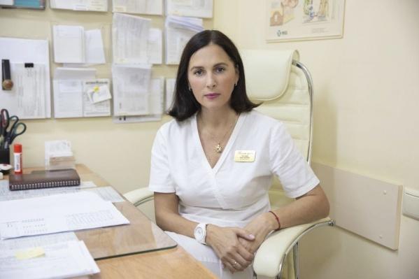 Акушер-гинеколог, специалист по интимно-контурной пластике Анна Костерина
