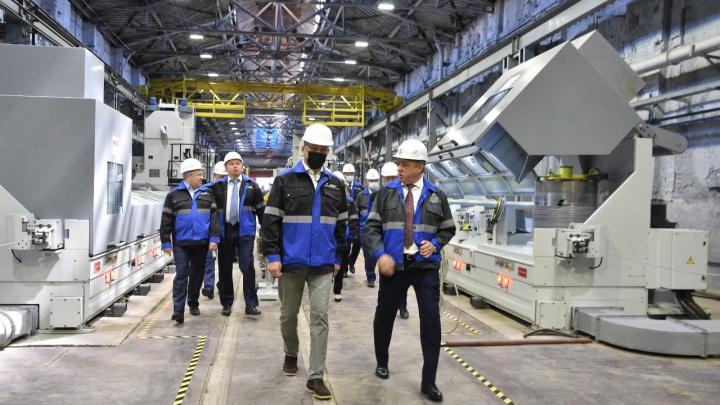 Белорецкий металлургический комбинат ввел в эксплуатацию первую очередь нового волочильного оборудования
