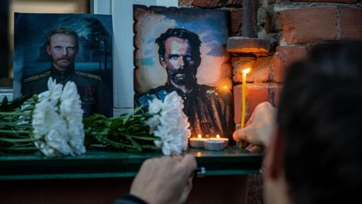 В Новосибирске почтили память белого генерала — он до сих пор считается военным преступником