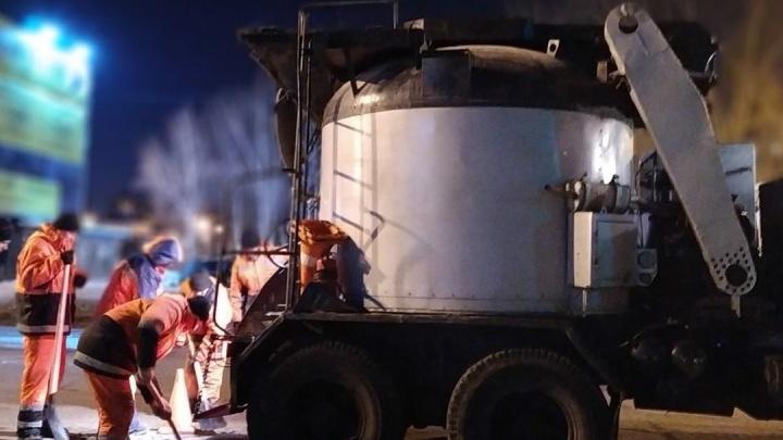 Мэр Самары объявила о старте ямочного ремонта дорог