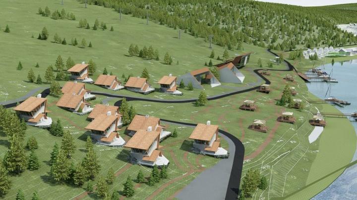 В долине реки Усьвы хотят построить горнолыжный курорт за 300 миллионов рублей. Показываем, как он будет выглядеть