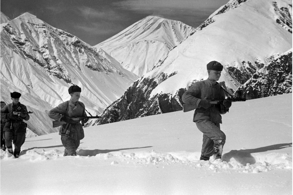 """Советские войска пришли в Теберду в январе <nobr class=""""_"""">1943-го</nobr>"""