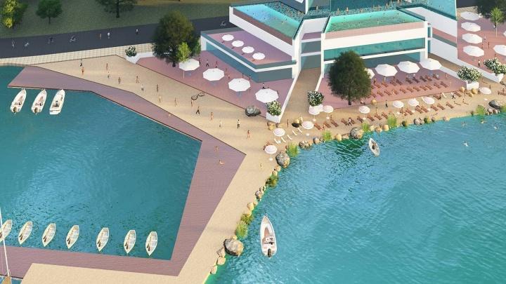 В Екатеринбурге откроется бассейн под открытым небом на Шарташе за 400 млн рублей