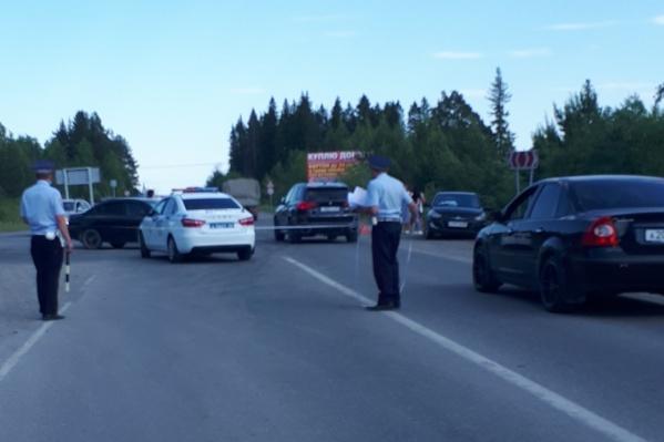 На месте аварии сотрудники ДПС обнаружили отсутствие дорожных знаков