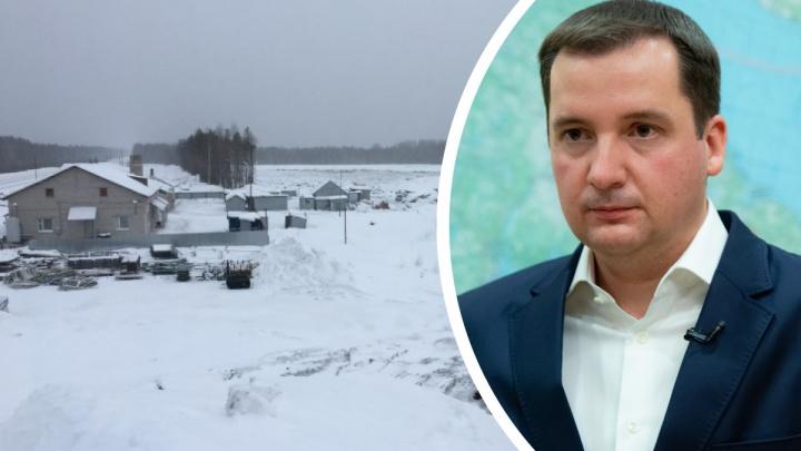 Александр Цыбульский заявил, что никакой альтернативной стройки на станции Шиес не будет