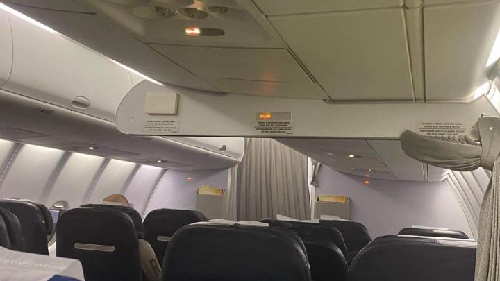 Челябинцы сообщили о большой задержке рейса в Москву из-за неисправности «Суперджета»