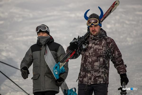 Юрманка — горнолыжный курорт в Маслянинском районе Новосибирской области