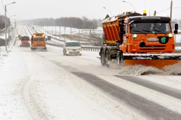 Часть федеральных трасс, которые проходят через Волгоградскую область, окажутся в снежном плену
