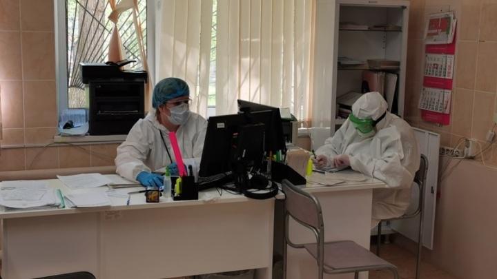 В Челябинске пациент ковидного отделения разбился насмерть, выпав из окна на восьмом этаже