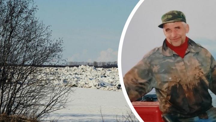 Северянин спас влюбленных, которые оказались на отколовшейся льдине в Северной Двине