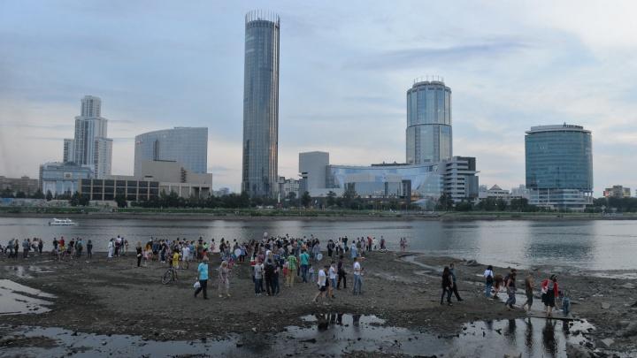Летом на два с половиной месяца спустят воду в Городском пруду