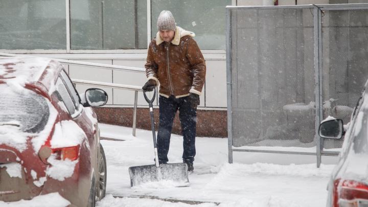 На Волгоград в ближайшие сутки обрушится новый снегопад. МЧС объявило предупреждение