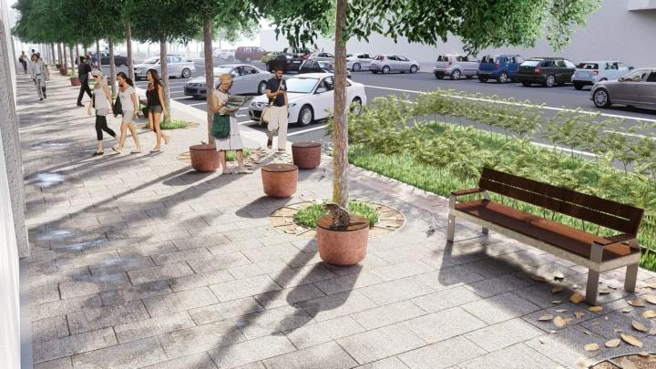 Общественники придумали, как сделать улицу в центре Челябинска удобнее для пешеходов. Оцените проект