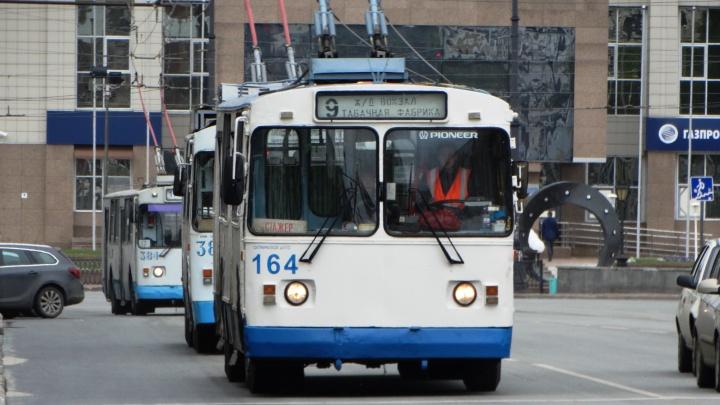 Мэрия Екатеринбурга прокомментировала обесточивание городского транспорта за долги
