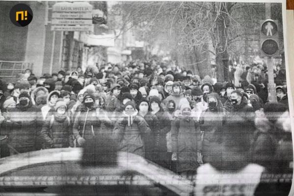 Выяснилось, что фото, которым московские полицейские доказали вину участников митинга, сделано в Екатеринбурге