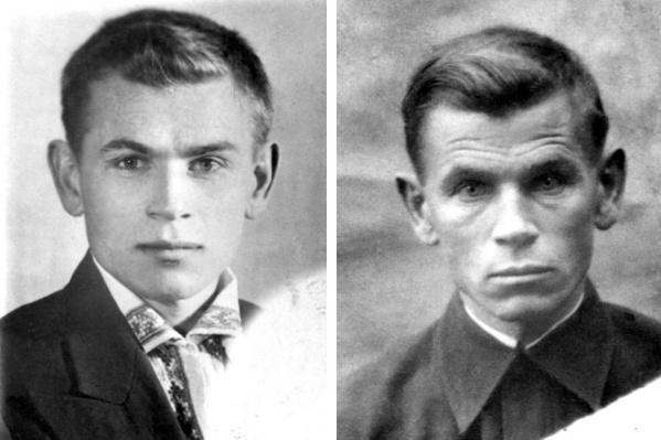 """СлеваЕвгений Кобытев в 1941 году, <nobr class=""""_"""">справа —</nobr> <nobr class=""""_"""">в 1945-м</nobr>"""