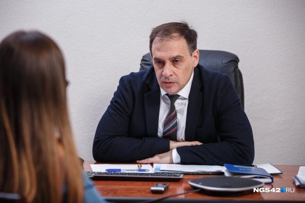 """По словам Алексея Цигельника, рост заболеваемости прогнозируют в конце апреля <nobr class=""""_"""">2021 года</nobr>"""