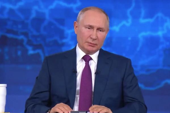Омич стал одним из первых россиян, получивших от президента ответ на свой вопрос