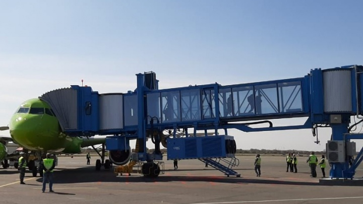Международный аэропорт Волгограда ищет строителей фундамента для телетрапов