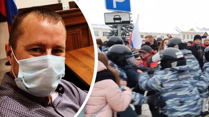 Бывший майор полиции, задержанный на митинге в поддержку Навального, отсудил у МВД моральную компенсацию
