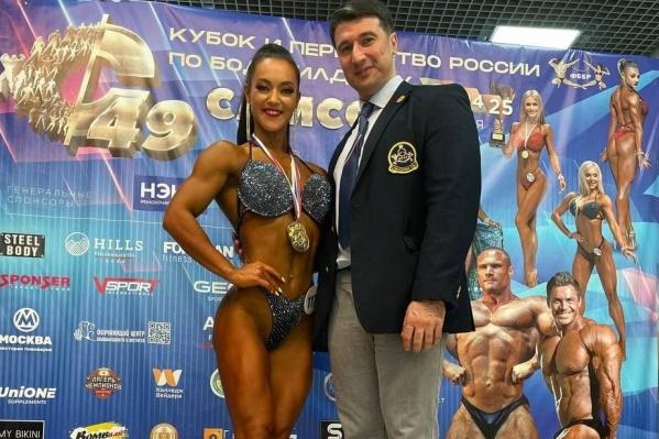 Татьяна считает, что победа на чемпионате — это заслуга ее тренера Артёма Гвозденко