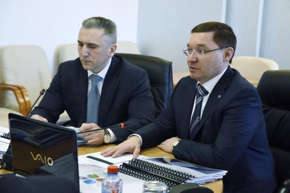 Полпред в УрФО Владимир Якушев тоже активно участвовал в избирательной кампании, но от мандата отказался