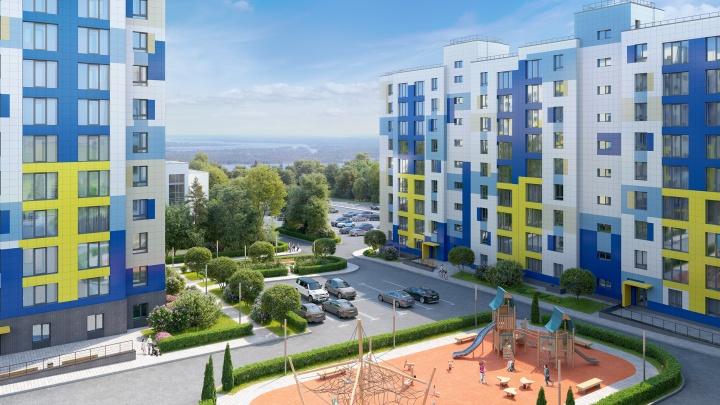 Место жительства можно изменить: в Волгограде строится новый жилой комплекс «Видный»