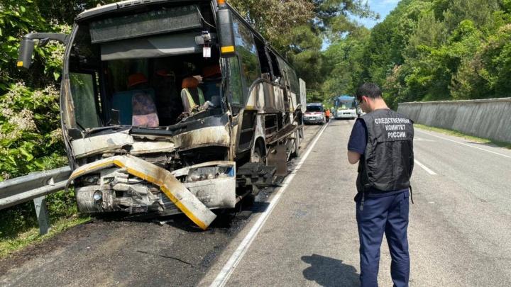 СК возбудил уголовное дело после ДТП с детскими автобусами