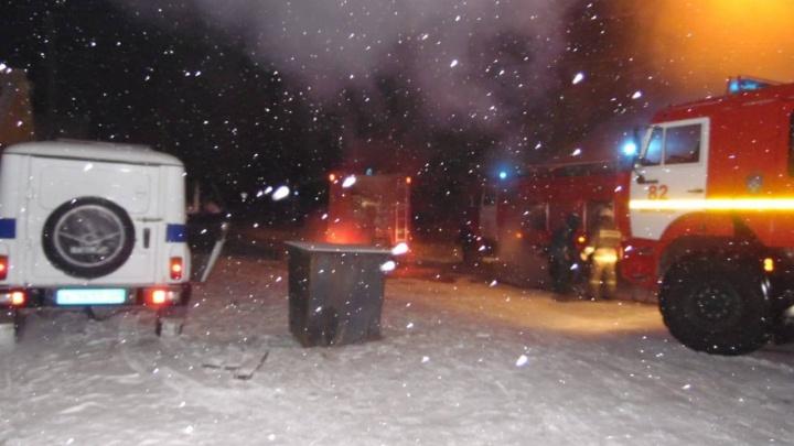 Из-за морозов в крае резко выросло число пожаров