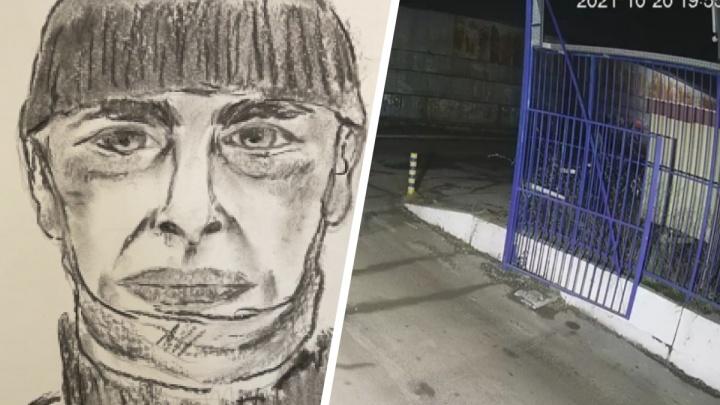 Следователи просят опознать насильника из гаражного массива