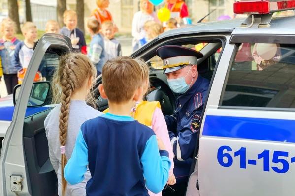 Госавтоинспекторы напомнят о безопасности на дорогах