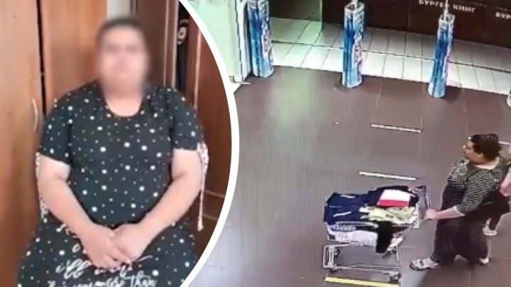Женщина, похитившая вещи из «Детского мира», планировала одеть детей