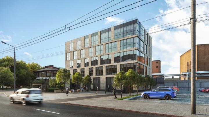 Возле бывшего клуба «Гагарин» проектируют новое офисное здание