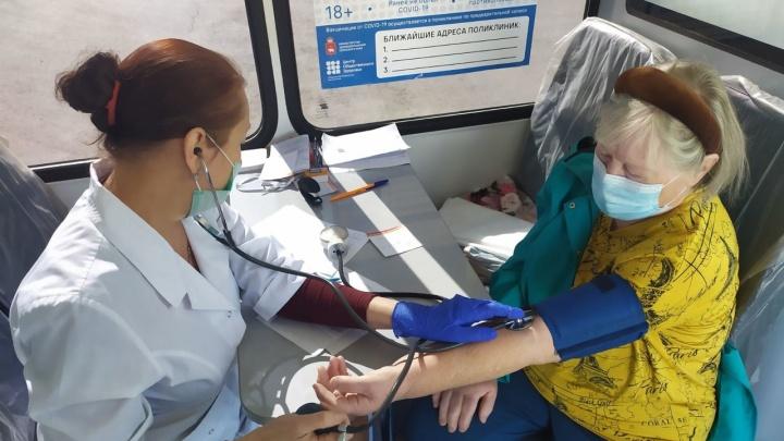 В Перми на пять часов откроют только один мобильный пункт вакцинации от коронавируса