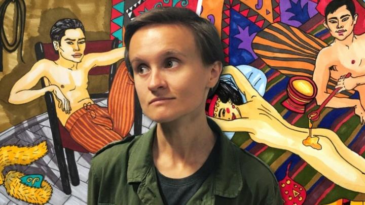 «Зря она так легкомысленна»: уфимской художнице пришли угрозы на адрес, который она указала в полиции